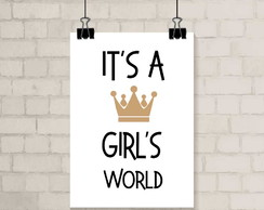 Poster A3 - Girls World