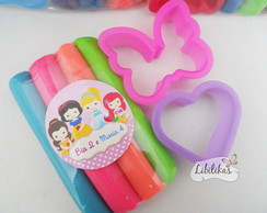 Lembrancinha Princesas Disney cute - Kit massinha 1
