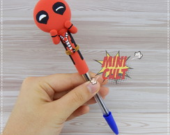 Caneta Decorada Deadpool