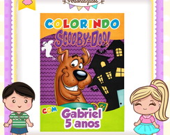 Revistinha de colorir Scooby Doo