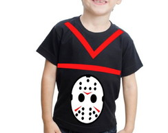 Camiseta Jason Customizada Infantil