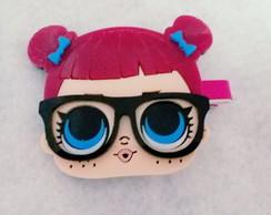 f5c671dcab2bb ... Presilha encapado e aplique acrílico boneca lol óculos p