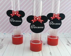 Tags para Tubetes Minnie