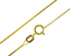 Corrente Veneziana Ouro Branco   Elo7 d0849096f8