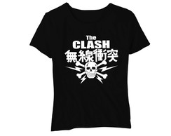 Camiseta Feminina Baby Look Southern Rock The Clash Japan