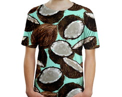 Camiseta Masculina Cocos Estampa Digital