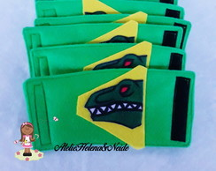 Braceletes Punhos Power Rangers Dino Charge