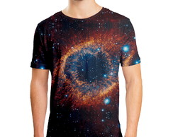 Camiseta Masculina Olho Do Universo Estampa Digital