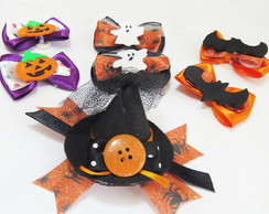 KIT LACINHOS PET HALLOWEEN