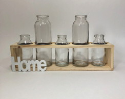 DECOR MADEIRA FIVE BOTTLES - HOME