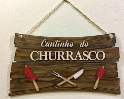 FM47 - Placa Cantinho do Churrasco II