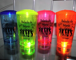 Copos Twister com Led Personalizados - 500ml