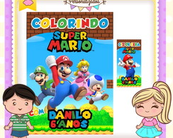 Kit colorir giz Super Mario Bros