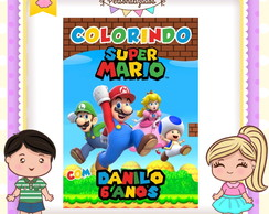 Revistinha de colorir Super Mario Bros
