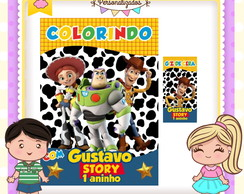Kit colorir giz Toy Story