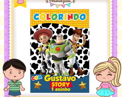Revistinha de colorir Toy Story