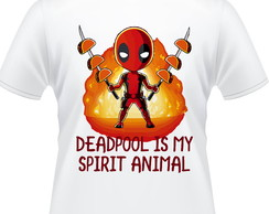Camiseta Deadpool é meu espirito animal Masculina