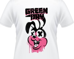 Camiseta Green Day Coelho Masculina