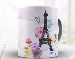Caneca Love Paris - Xicara 1457
