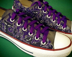 All Star customizado gatos