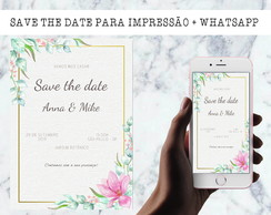 save the date casamento