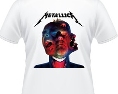 Camiseta Metallica Hardwired Album Masculina