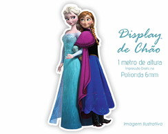 Display de Chão 1m de Altura da Frozen