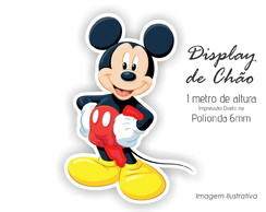 Display de Chão 1m de Altura do Mickey