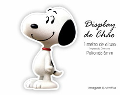 Display de Chão 1m de Altura do Snoopy