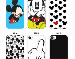Capa Capinha Case - Mickey Minnie - Galaxy Note 2 3 4 5