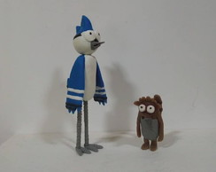 mordecai e rigby - figure action-