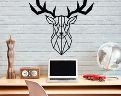 Wall Decor em MDF - Deer