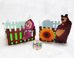 Cachepô - MASHA AND THE BEAR