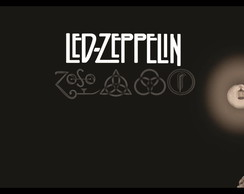 Quadro Decorativo Banda Led Zeppelin