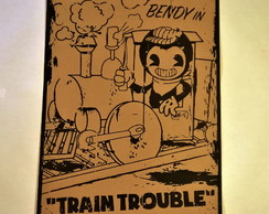Poster Bendy and the Ink Machine Modelo 06 A2