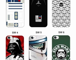 Capa Capinha Case - Star Wars - Galaxy Note 2 3 4 5