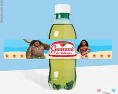 Rótulo Mini Guaraná - Moana