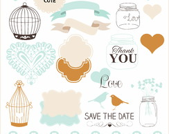 KIt Digital casamento SAVE THE DATE