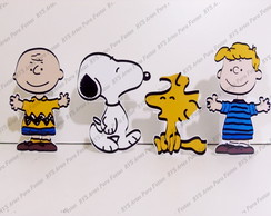 4 Displays de mesa - Snoopy