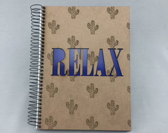 "Caderno ""Relax"""
