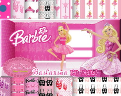 Kit Digital Barbie Bailarina