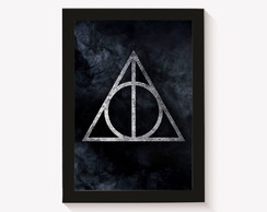 Quadro - Poster com Moldura Harry Potter 7