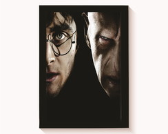 Quadro - Poster com Moldura Harry Potter 8