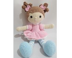 Boneca de crochê: +40 ideias com amigurumi fantásticas ... | 194x244