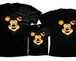 Camisetas para Halloween do Mickey