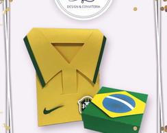 9d28100186 ... Kit Caixa Camisa do Brasil + Caixa Bandeira do Brasil
