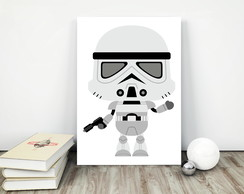 Placa decorativa 15x20cm Star Wars