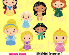 Kit Digital Princesas 9