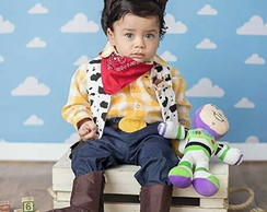 Roupa do wood toy story