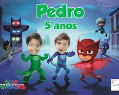 Papel Arroz PJ MASKS COM FOTO
